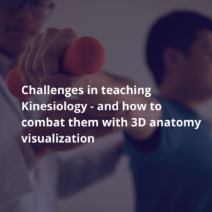 3D Kinesiology Simulation As Teaching Solutions